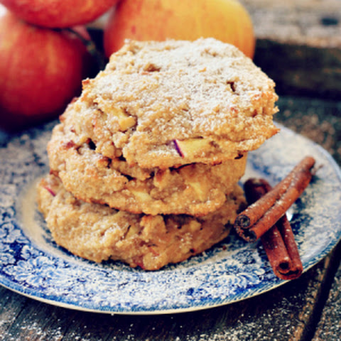 Easy Cinnamon Apple Cookies {grain free, gluten free, refined sugar free, dairy free}