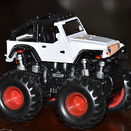 Monster! by Priyanka Gupta - Artistic Objects Toys ( toy, truck, wheels, artistic object, toddler,  )