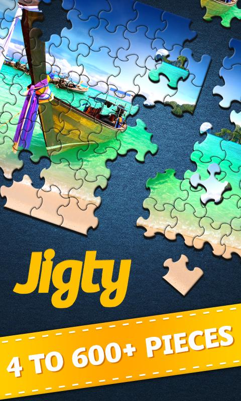 Jigty Jigsaw Puzzles Screenshot 0