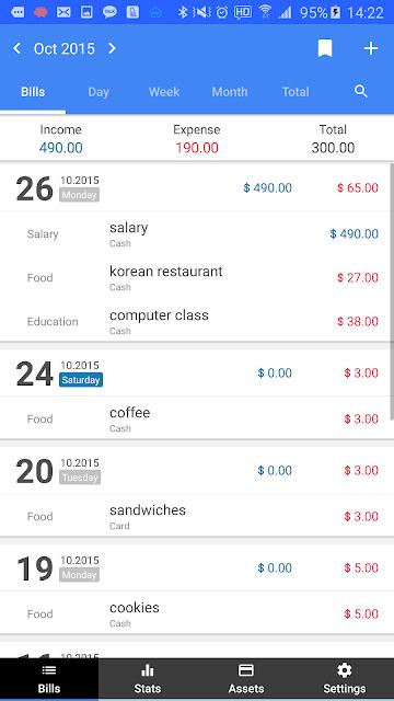 Money Manager (+PC Editing) screenshots