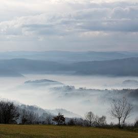 Blanked by Nenad Borojevic Foto - Landscapes Travel ( clouds, fogs, fog, cloud, misty, mist )