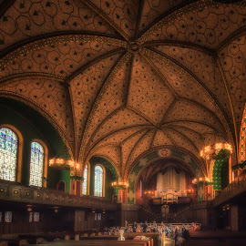 Lutherkirche by Ole Steffensen - Buildings & Architecture Places of Worship ( church, organ, wiesbaden, orchestra, germany, lutherkirche )