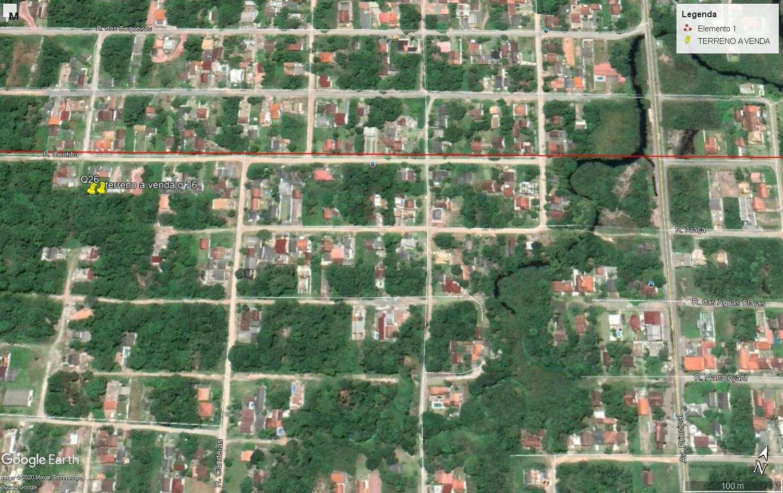 Terreno à venda, 288 m² por R$ 45.000,00 - Praia do Imperador - Itapoá/SC