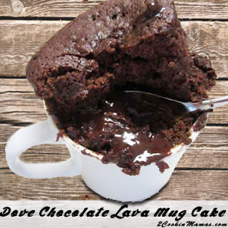 Chocolate Lava Mug Cakes