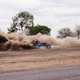 Doughnuts by Suzanne McCowen - Sports & Fitness Motorsports ( #fun, #sand, #doughnuts, #outbackqueensland, #buggy,  )