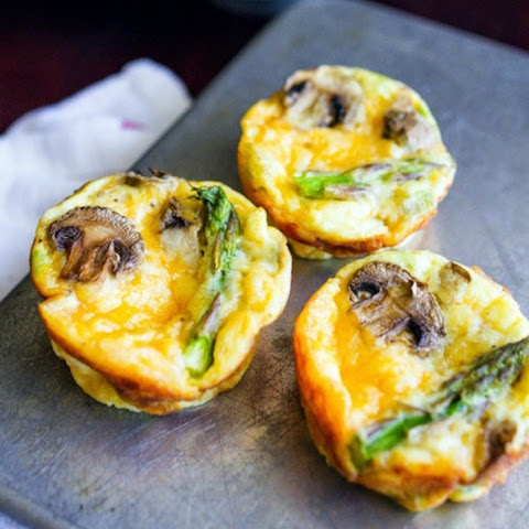 Mini Ham and Vegetable Quiche