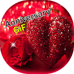 Marriage Anniversary GIF Icon