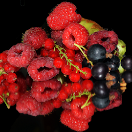multicolored fruits by LADOCKi Elvira - Food & Drink Fruits & Vegetables ( flowers )