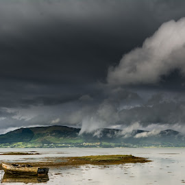 Just another day in Ireland by Florian Christoph - Landscapes Cloud Formations ( ireland, carlingford, lough, beach, landscape )