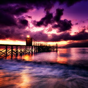 Before Sunrise by Dhiean Kukuh - Landscapes Waterscapes