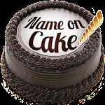 Name on Birthday Cake - Photo on Birthday Cake Icon