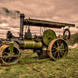 Cornish Steam by Andy Toby - Transportation Other ( engine, green, traction, cornwall, steam )