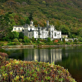 Kylemore Abbey by Francis Xavier Camilleri - Buildings & Architecture Public & Historical ( water, reflection, ireland, greenery, architecture, historical, abbey )