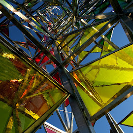 Forms and Colors by Þorsteinn H. Ingibergsson - Abstract Patterns ( abstract, iceland, colors, glass, structor, steel, forms )