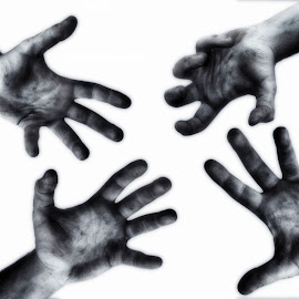Hand game by Saverio Spatola - Abstract Patterns ( hand, dirty, game )