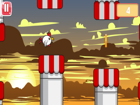 Chicken Fly : Easy Flappy apk screenshot