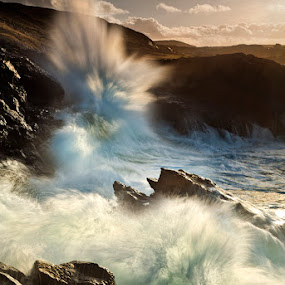 Crashing Waves by Gary McParland - Landscapes Waterscapes ( sea )