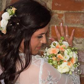 brigita by Ingrid Vasas - Wedding Bride ( brigita )