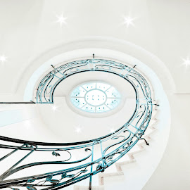 Staircase by Francesco Iafelice - Buildings & Architecture Architectural Detail ( canon, staircase, italy )