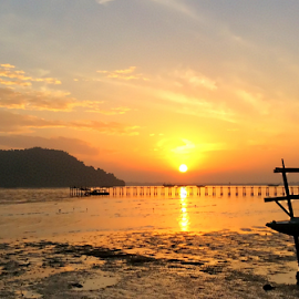 Sunrise in the tropic. by Nyen Chin - Instagram & Mobile iPhone