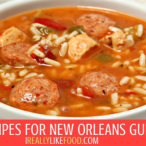 Recipes for New Orleans Gumbo