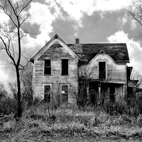 The House on the Hill by Corinna Burton - Buildings & Architecture Decaying & Abandoned (  )