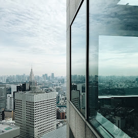 View from a skyscraper  by Kai Jian - Instagram & Mobile iPhone ( tokyo )