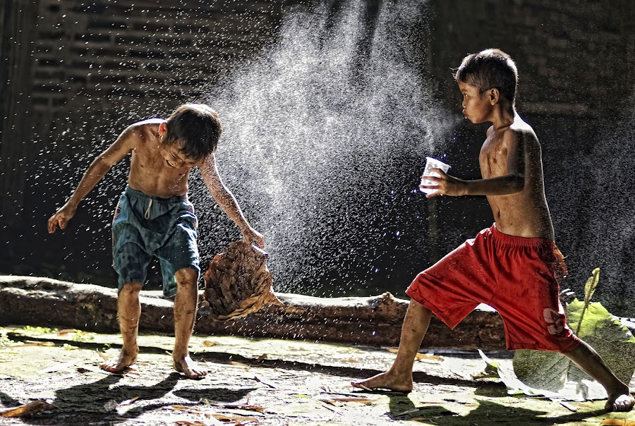 No Anger by Hanafi Salim - Babies & Children Children Candids