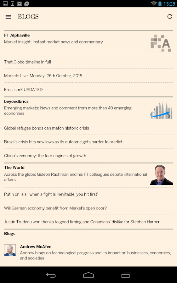 Financial Times Screenshot 19