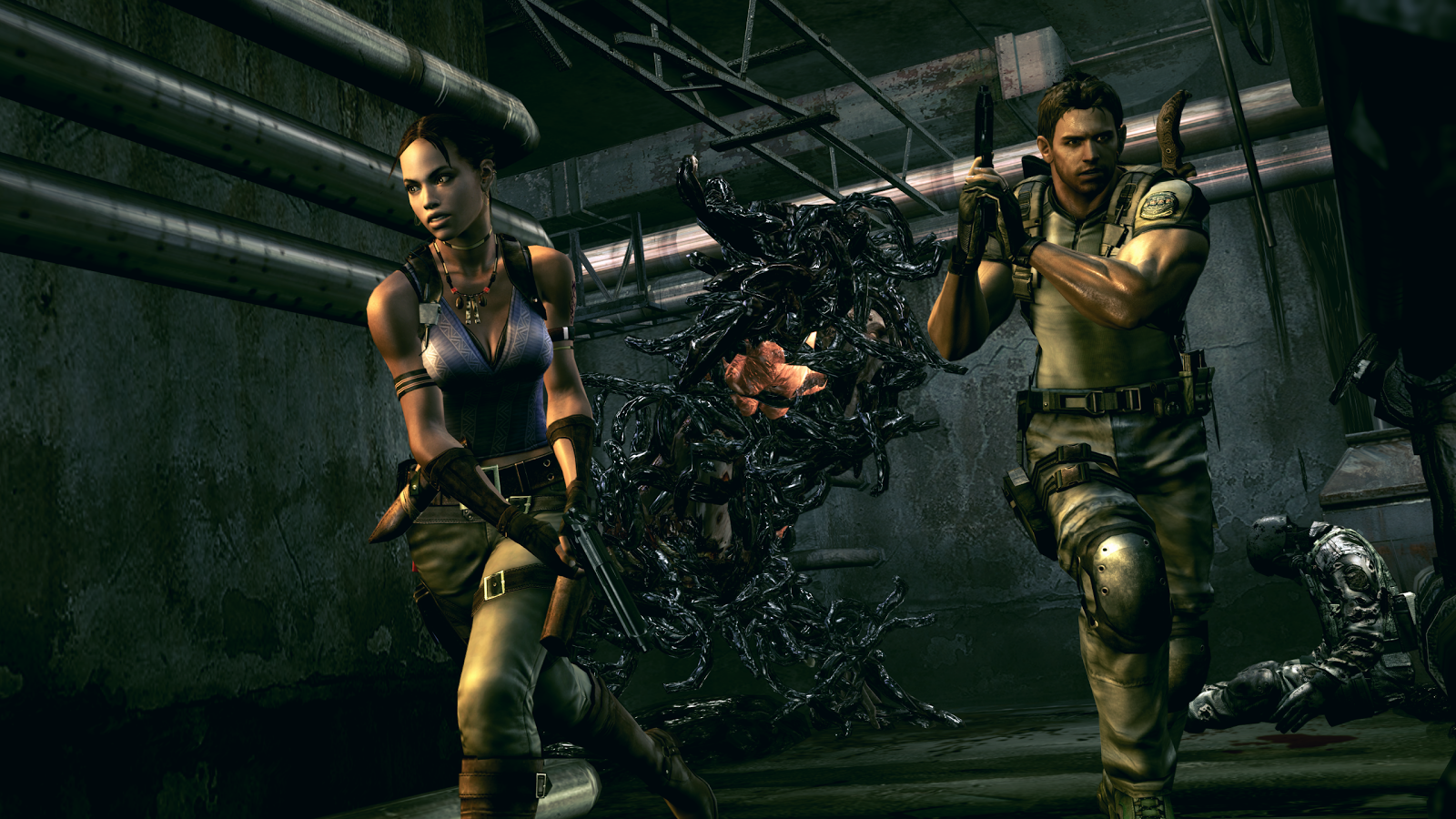 Resident Evil 5 for SHIELD TV Screenshot 4