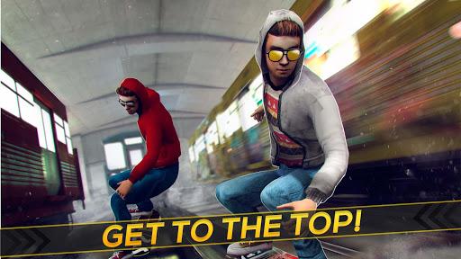 Subway Skateboard Ride Tricks - Extreme Skating screenshot 7