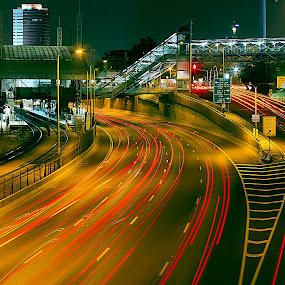 AYALON by Dong Leoj - City,  Street & Park  Street Scenes ( street&park, street scenes, city )