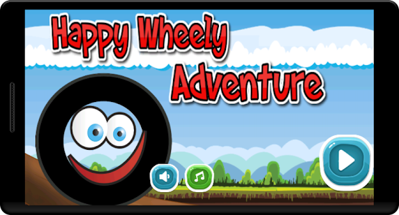 Happy adventure Wheel - Bounce - screenshot