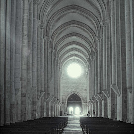 Batalha  by Annette Flottwell - Buildings & Architecture Places of Worship ( divine, arches, arcos, cathedral, gothisc, batalha )