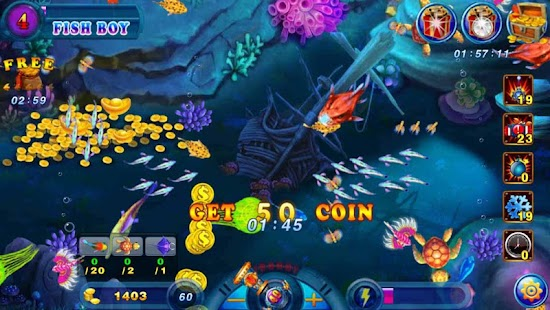 Crazy fish saga free apk 1 2 free adventure apps for android for Crazy fishing videos