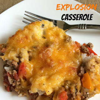 Stuffed Pepper Explosion Casserole