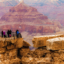 Grand Canyon 1 by Dave Walters - Landscapes Mountains & Hills ( az, national park, colors, moody, travel, senic, grand canyon )
