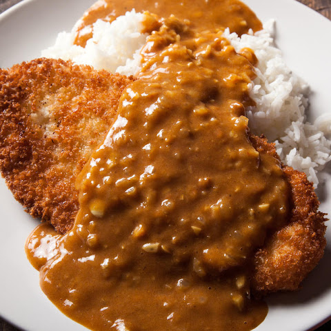Japanese Chicken Katsu with Curry Sauce