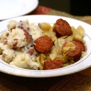 Kielbasa With Smothered Cabbage