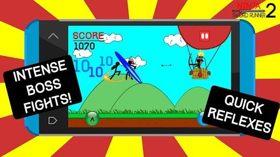 Ninja Sword Runner 2 APK for Bluestacks