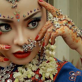 by Bambang Kusaeri - People Portraits of Women ( potrait, india, fashion photography, culture )