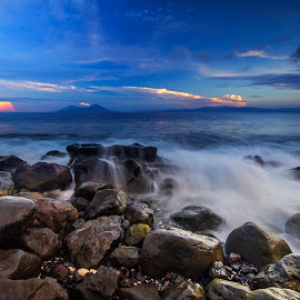 Bula beach  by Ady Roses - Landscapes Waterscapes ( waterscape, indonesia, sunrise, beach, landscape )