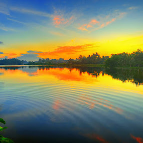 Sunset @Cibinong by Anif Putramijaya - City,  Street & Park  Vistas