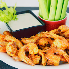 Firecracker Shrimp with Blue Cheese Dressing