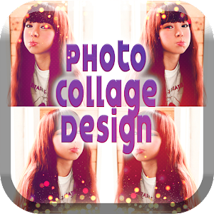 Photo Collage Design Art Grid