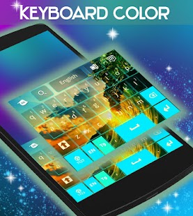 Color Keyboard GO - screenshot