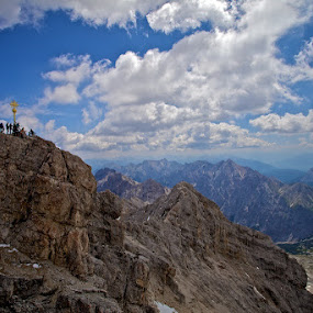 Zugspitze by Lieven Lema - Landscapes Mountains & Hills ( 2011, zugspitze, canon eos 5d mkii, germany, aperture )