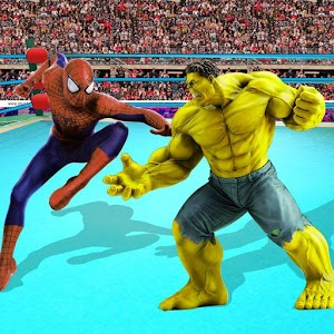 Superhero Wrestling Tag Team Ring Fighting Arena For PC / Windows 7/8/10 / Mac – Free Download