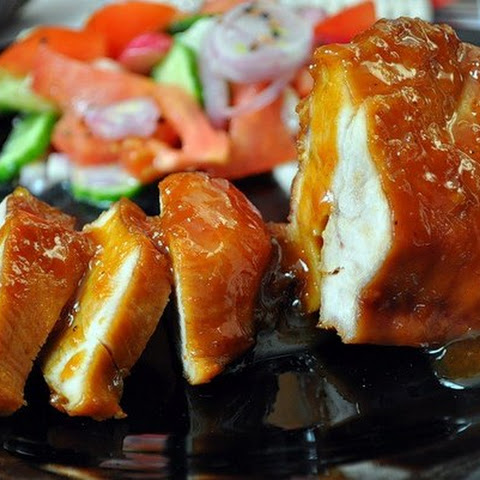 Chicken Breast Marinated In Orange.