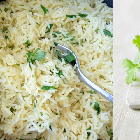 Garlic and Coriander Rice